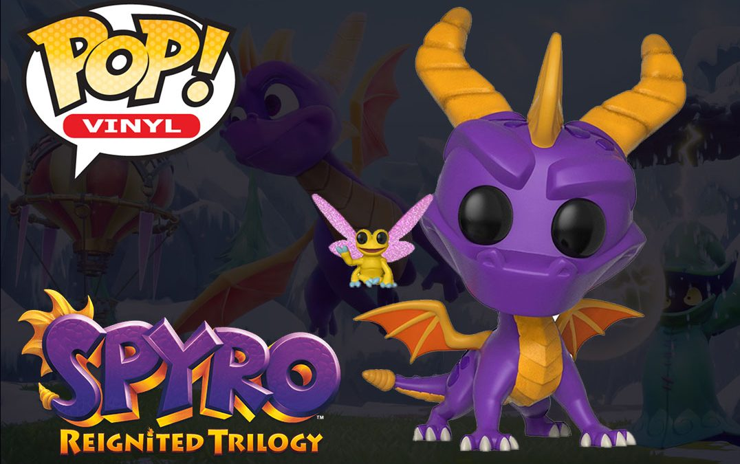 Spyro Reignited Trilogy News: Spyro & Sparx Pop Vinyl Figures Revealed!